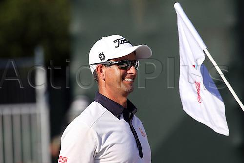 22.09.2016. Atlanta, Georgia, USA.  Adam Scott during the opening round of the 2016 PGA Tour Championship at East Lake Golf Club in Atlanta, Georgia.