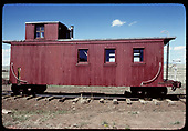 Side view of caboose.<br /> D&amp;RGW