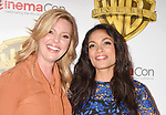 LAS VEGAS, CA - MARCH 29: Actresses Katherine Heigl (L) and Rosario Dawson arrive at CinemaCon 2017 Warner Bros. Pictures Invites You to ?The Big Picture?, an Exclusive Presentation of our Upcoming Slate at The Colosseum at Caesars Palace during CinemaCon, the official convention of the National Association of Theatre Owners, on March 29, 2017 in Las Vegas, Nevada.