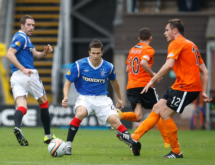 Matt McKay makes his debut for Rangers