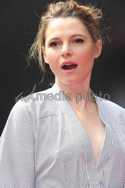 17 May 2017 - Hollywood, California - Amy Seimetz. Sir Ridley Scott Hand And Footprint Ceremony. Photo Credit: AdMedia