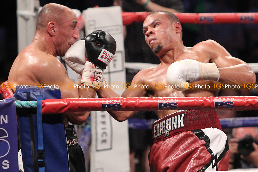 `Chris Eubank Jr vs Arthur Abraham during a Boxing Show at the SSE Arena, Wembley on 15th July 2017