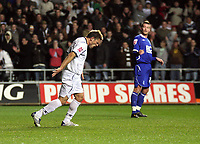Pictured: Gorka Pintado of Swansea City in action<br />