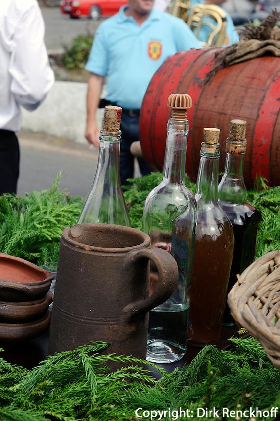 Weinfest in Santa Barbara auf der Insel Terceira, Azoren, Portugal