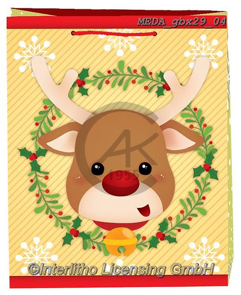 Dreams, CHRISTMAS ANIMALS, WEIHNACHTEN TIERE, NAVIDAD ANIMALES, paintings+++++,MEDAGBX29/04,#XA#