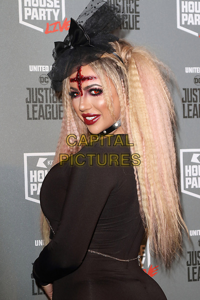 Holly Hagan at the KISS House Party at SSE Arena Wembley, London on Thursday 26 October 2017<br /> CAP/ROS<br /> &copy;ROS/Capital Pictures
