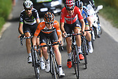 June 17th 2017, Schaffhaussen, Switzerland;  WALLAYS Jelle of Lotto Soudal, VAN DER LIJKE Nick of Roompot - Nederlandse Loterij, VENTER Jaco of Dimension Data, TRENTIN Matteo of Quick-Step Floors during stage 8 of the Tour de Suisse cycling race, a stage of 100 kms between Schaffhaussen and Schaffhaussen