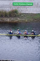 Sarasota. Florida USA.Sunday Final's Day at the  2017 World Rowing Championships, Nathan Benderson Park<br /> <br /> Sunday  01.10.17   <br /> <br /> [Mandatory Credit. Peter SPURRIER/Intersport Images].<br /> <br /> <br /> NIKON CORPORATION -  NIKON D4S  lens  VR Zoom 70-200mm f/2.8G IF-ED mm. 640 ISO 1/100/sec. f 2.8