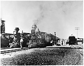 D&amp;RG locomotives #164 and #83 with another locomotive.<br /> D&amp;RG  Montrose, CO  1899