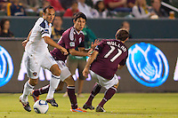 The LA Galaxy defeated Colorado Rapids 1-0 during a MLS game at Home Depot Center stadium in Carson, California on September 9, 2011.