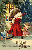 Isabella, CHRISTMAS SANTA, SNOWMAN, WEIHNACHTSMÄNNER, SCHNEEMÄNNER, PAPÁ NOEL, MUÑECOS DE NIEVE, nostalgic, paintings+++++,ITKEKVINT1005,#X#