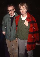 #WoodyAllen #MiaFarrow 1992<br /> Photo By Adam Scull/PHOTOlink.net