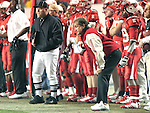 25 November 2006: NC State head coach Chuck Amato. The East Carolina University Pirates defeated the North Carolina State University Wolfpack 21-16 at Carter Finley Stadium in Raleigh, North Carolina in an NCAA Division I College Football game.