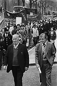 Bobby Sands commemoration march and rally, London.
