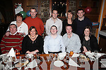 Stephen Roche(centre) from Caherhayes, Abbeyfeale, celebrated his 17th birthday with family and friends last Saturday night in Leen's Hotel, Abbeyfeale. F l-r: Ger Roche, Michelle Morris, Stephen Roche, Stephen Feally, Mairead Roche. B l-r: Marian Roche, Sean Morris, Geremiah Roche, Jodi Downe, Connor Fitzgerald.