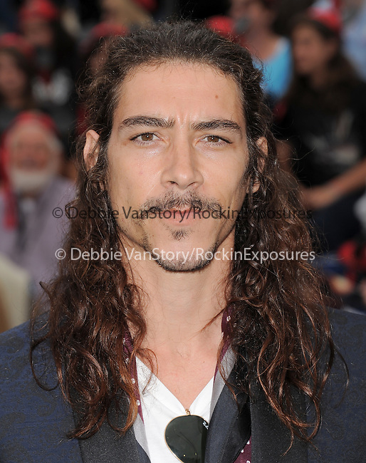 Oscar Jaeneda at Walt Disney Pictures Premiere of Pirates of the Caribbean : On Stranger Tides held at Disneyland in Anaheim, California on May 07,2011                                                                               © 2010 Hollywood Press Agency