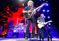 The Who perform their 50th Anniversary tour at American Airlines Center on Saturday Night. Original Members Roger Daltrey and Pete Townshend front and center. (Special to the Star-Telegram/Rachel Parker)