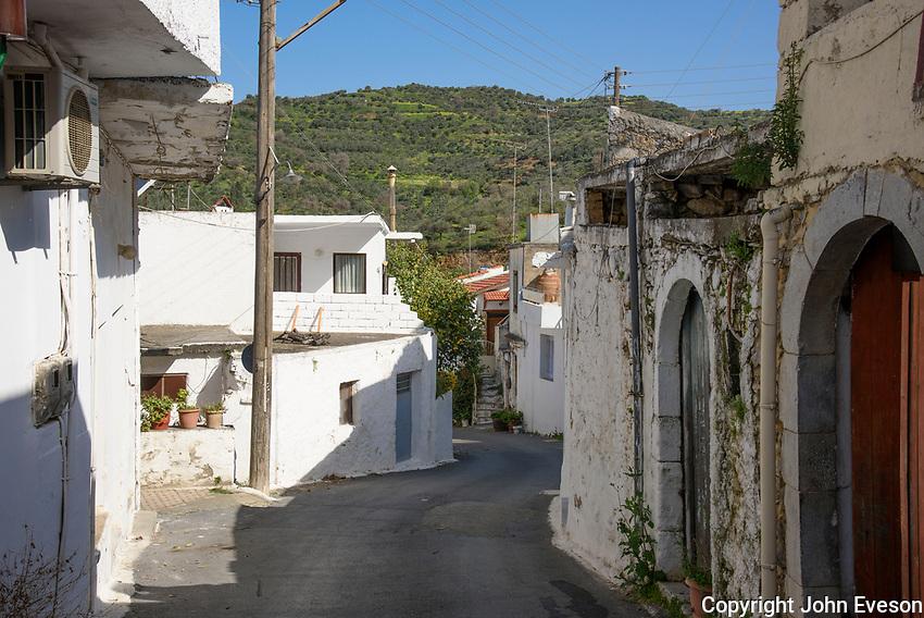 Village of Kastamonitsa, Crete.