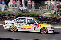 Round 10 of the 1991 British Touring Car Championship. #6 Jeff Allam (GBR). Vauxhall Sport. Vauxhall Cavalier.