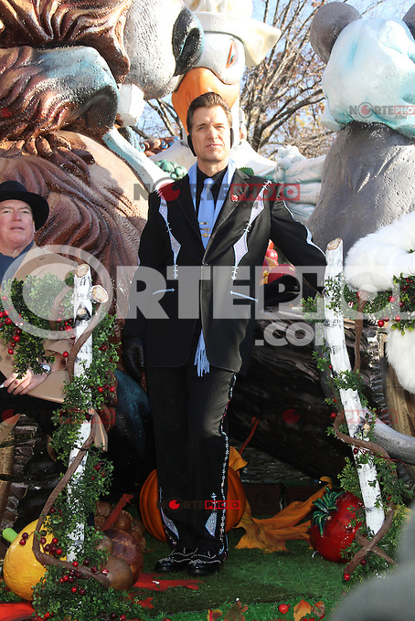 NEW YORK, NY - NOVEMBER 22: Chris Isaak at the 86th Annual Macy's Thanksgiving Day Parade on November 22, 2012 in New York City. Credit: RW/MediaPunch Inc. /NortePhoto
