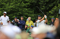 Francesco Molinari (ITA) on the 14th tee during the final round at the The Masters , Augusta National, Augusta, Georgia, USA. 14/04/2019.<br /> Picture Fran Caffrey / Golffile.ie<br /> <br /> All photo usage must carry mandatory copyright credit (© Golffile | Fran Caffrey)