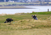 Jack Madden (Royal Portrush) during the 3rd round of matchplay at the 2018 West of Ireland, in Co Sligo Golf Club, Rosses Point, Sligo, Co Sligo, Ireland. 02/04/2018.<br /> Picture: Golffile | Fran Caffrey<br /> <br /> <br /> All photo usage must carry mandatory copyright credit (&copy; Golffile | Fran Caffrey)