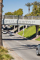 Welcome to Downtown Fullerton Railroad Overpass