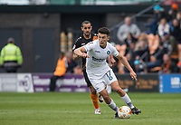 Luke O'Nien of Wycombe Wanderers & Curtis Weston of Barnet during the Sky Bet League 2 match between Barnet and Wycombe Wanderers at The Hive, London, England on 17 April 2017. Photo by Andy Rowland.