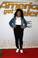 "Amanda Mena<br /> at the ""America's Got Talent"" Season 13 Live Show Red Carpet, Dolby Theater, Hollywood, CA 08-14-18<br /> David Edwards/DailyCeleb.com 818-249-4998"