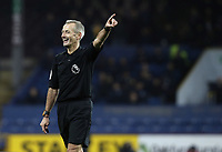 Referee Martin Atkinson<br /> <br /> Photographer Rich Linley/CameraSport<br /> <br /> The Premier League - Burnley v Brighton and Hove Albion - Saturday 8th December 2018 - Turf Moor - Burnley<br /> <br /> World Copyright © 2018 CameraSport. All rights reserved. 43 Linden Ave. Countesthorpe. Leicester. England. LE8 5PG - Tel: +44 (0) 116 277 4147 - admin@camerasport.com - www.camerasport.com
