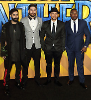 Rudimental at the Black Panther European Premiere at the Eventim Apollo, Hammersmith, London on Thursday 8th February 2018<br /> CAP/ROS<br /> CAP/ROS<br /> &copy;ROS/Capital Pictures