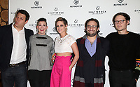 LOS ANGELES, CA - NOVEMBER 9: Michael A. Pruss, Amy Emmerich, Kristen Stewart, David Shapiro, Josh Kaye<br /> , at the Los Angeles Premiere of Come Swim at the Landmark Theater in Los Angeles, California on November 9, 2017. Credit: November 9, 2017.   <br /> CAP/MPI/FS<br /> &copy;FS/MPI/Capital Pictures
