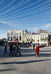 20080110 - France - Aquitaine - Pau<br /> CAFES ET PLACE CLEMENCEAU AU CENTRE VILLE PIETONNIER DE PAU.<br /> Ref : PAU_003.jpg - © Philippe Noisette.