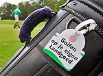ESBEEK - Label aan de tas. Midden-Brabant Golfbaan. COPYRIGHT KOEN SUYK