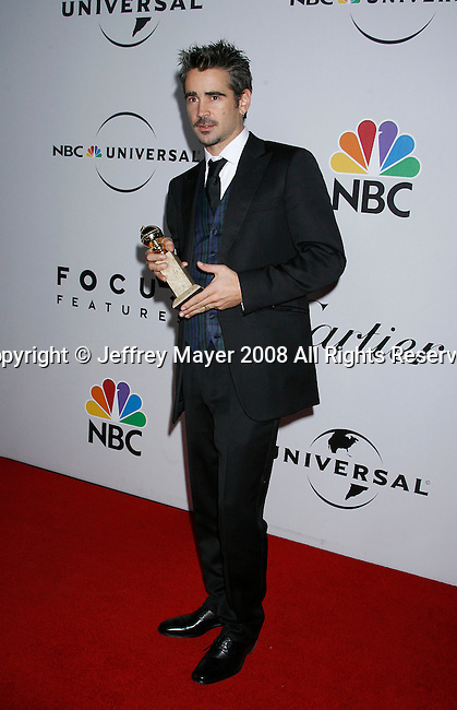 BEVERLY HILLS, CA. - January 11: Actor Colin Farrell attends the Universal and Focus Features After Party for the 66th Annual Golden Globe Awards held at the Beverly Hilton Hotel on January 11, 2009 in Beverly Hills, California.