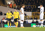Dortmund's Pierre-Emerick Aubameyang celebrates scoring his sides opening goal during the Europa League match at White Hart Lane Stadium.  Photo credit should read: David Klein/Sportimage
