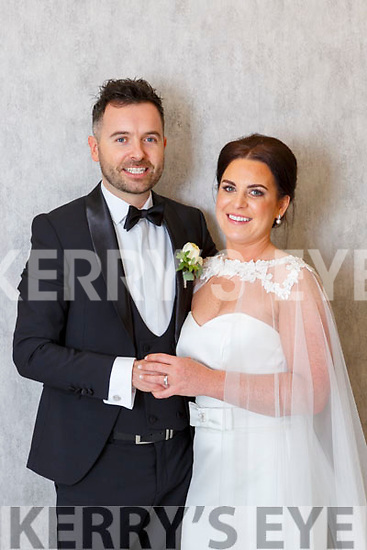 Ciara O'Leary, Knocklebede, Kilcummin, daughter of Kevin and Noreen, and Darragh kelly, Knockataggle, Kilcummin, son of Dermot and Aine, who were married in Our Lady of Lourdes church on Saturday, Fr Larry Kelly, best man was Daniel Kelly, groomsmen were Padraig Kelly, Padraig A Kelly, and Ronan Gallagher, bridesmaids were Marie Morris, Catherine Dillane, Maria Gallivan, Niamh Kearney, flowergirls were Béibhinn, Dearbhla and lauren Kiely and Orlaith Mackey, pageboys were Jack and Luke Kelly, the reception was held in the Killarney Oaks Hotel and the couple will reside in Kilcummin