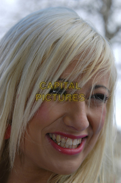 "CHANTELLE HOUGHTON.At the UK Film Premiere of ""Ice Age 2: The Meltdown"",.Empire Cinema, Leicester Square, London, England, .April 2nd 2006..portrait headshot.Ref: IA.www.capitalpictures.com.sales@capitalpictures.com.©Capital Pictures"