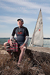 Ron Murray has sailed for over 30 years and is back on Lake Travis after a heart transplant in the summer of 2009 near Volente Beach, Texas on Sunday, February 28, 2010. Murray received the heart of Kevin Underhill, a cyclist who died in a crash during the Driveway Criterion Cycling Series..