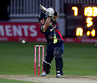 Sean Dickson bats for kent during the Vitality Blast T20 game between Kent Spitfires and Somerset at the St Lawrence Ground, Canterbury, on Thur Aug 16, 2018
