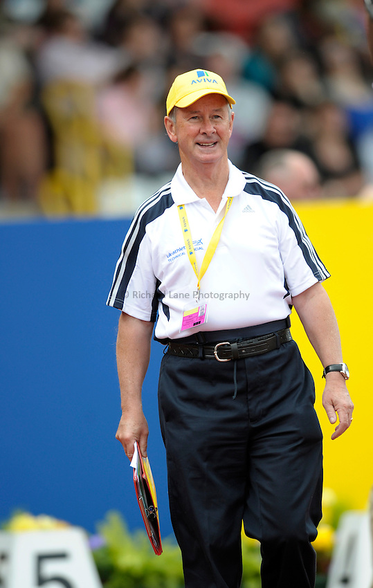 Photo: Ady Kerry/Richard Lane Photography. Aviva National Championships, Incorporating the Team GB Selection Trials, Birmingham. 13/07/2008. .Technical Official.
