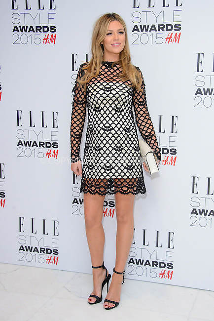 WWW.ACEPIXS.COM<br /> <br /> February 24 2015, London<br /> <br /> Abbey Clancy arriving at the ELLE style awards 2015 at the Walkie Talkie Tower on February 24 2015 in London<br /> <br /> By Line: Famous/ACE Pictures<br /> <br /> <br /> ACE Pictures, Inc.<br /> tel: 646 769 0430<br /> Email: info@acepixs.com<br /> www.acepixs.com