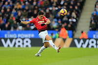 Alexis Sanchez of Manchester United during the Premier League match between Leicester City and Manchester United at King Power Stadium on February 3rd 2019 in Leicester, England. (Photo by Leila Coker/phcimages.com)<br /> Foto PHC Images / Insidefoto <br /> ITALY ONLY