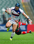 Russia vs South Korea during their HSBC Sevens Wold Series Qualifier match as part of the Cathay Pacific / HSBC Hong Kong Sevens at the Hong Kong Stadium on 27 March 2015 in Hong Kong, China. Photo by Juan Manuel Serrano / Power Sport Images