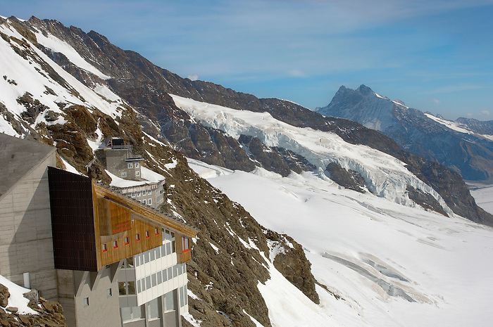 Jungfraujoch Top Of Europe - Bernese Oberland Alps - Switzerland