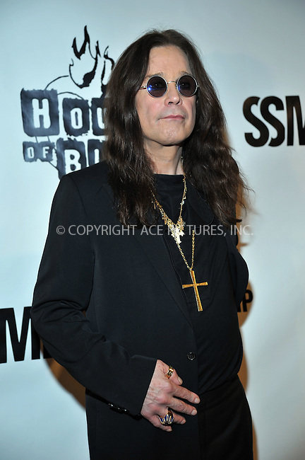 WWW.ACEPIXS.COM . . . . . ....September 10 2009, LA....Singer Ozzy Osbourne at the 2nd Annual Sunset Strip Music Festival's Tribute to Ozzy Osbourne at the House of Blues on September 10 2009 in West Hollywood, CA....Please byline: JOE WEST- ACEPIXS.COM.. . . . . . ..Ace Pictures, Inc:  ..(646) 769 0430..e-mail: info@acepixs.com..web: http://www.acepixs.com