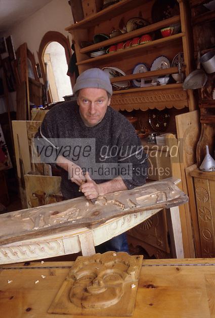 Europe/France/Rhone-Alpes/73/Savoie/Saint-Marcel: Gilbert Meilleur Menuisier Artisan Menuisier