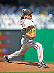 8 June 2008: San Francisco Giants' pitcher Jack Taschner on the mound in relief against the Washington Nationals at Nationals Park in Washington, DC. The Giants rallied to defeat the Nationals 6-3 in their third consecutive win of the 4-game series...Mandatory Photo Credit: Ed Wolfstein Photo