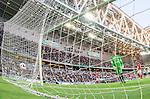 Stockholm 2015-07-13 Fotboll Allsvenskan Hammarby IF - Falkenbergs FF :  <br /> Hammarbys Nahir Besara g&ouml;r 3-0 bakom Falkenbergs m&aring;lvakt Otto Martler under matchen mellan Hammarby IF och Falkenbergs FF <br /> (Foto: Kenta J&ouml;nsson) Nyckelord:  Fotboll Allsvenskan Tele2 Arena Hammarby HIF Bajen Falkenberg FFF jubel gl&auml;dje lycka glad happy remote remotekamera
