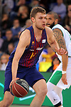League ACB-ENDESA 2017/2018 - Game: 27.<br /> FC Barcelona Lassa vs Real Betis Energia Plus: 121-56.<br /> Sasha Vezenkov.
